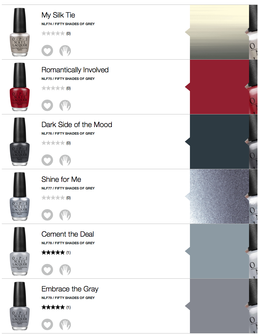 nail polish trends 50 shades of grey to the nailsinc way to gel fifty shades of grey opi