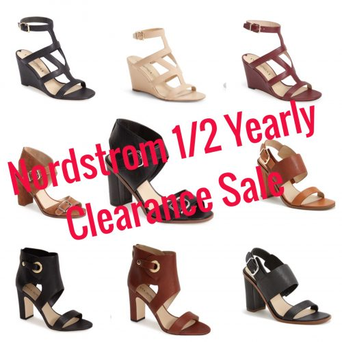 Nordstrom 1/2 Yearly Sale – My Clearance Shoe Picks Part 1!