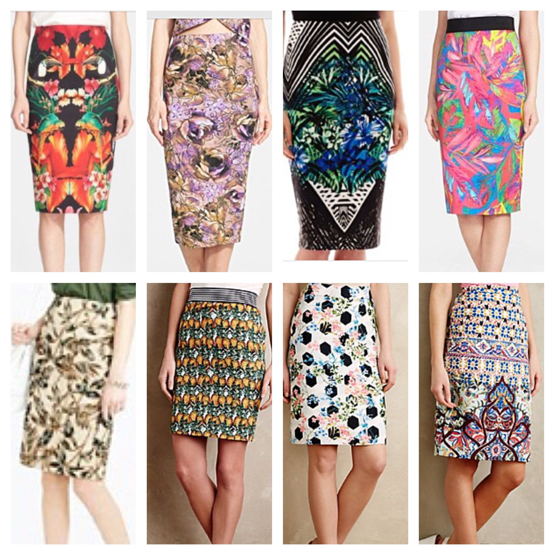 Pattern Play: How to Wear and Style Patterned Pencil Skirts