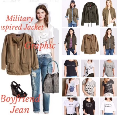 Remix Your Denim | How to Wear Boyfriend Jeans and Graphic Tee's