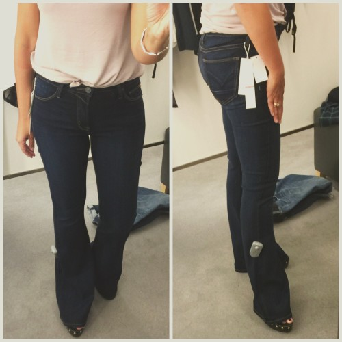 "Hudson 'Mia"" Flare Jeans on www.asksuzannebell.com"