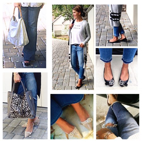 What I Wore September – A Month of Denim Outfit Ideas