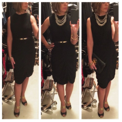 Love Moschino Dress on AskSuzanneBell.com   a styling post in pulling it all together for a night out.