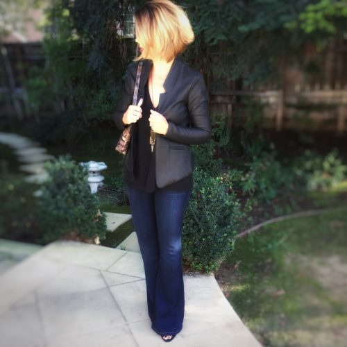 AskSuzanneBell Instagram Favorites: Easy Outfit: Blazer and Denim