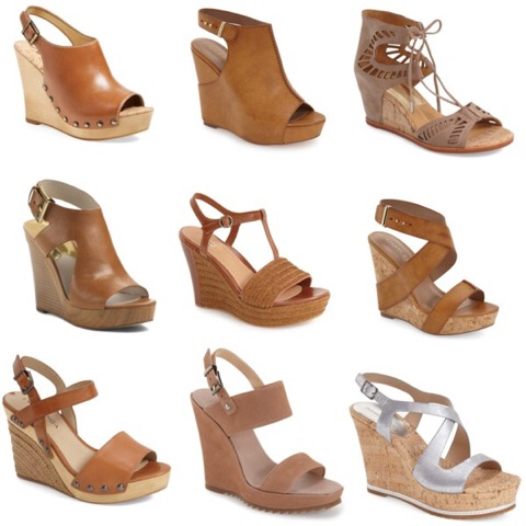Spring Kicks featuring Wedge Sandals | AskSuzanneBell.com