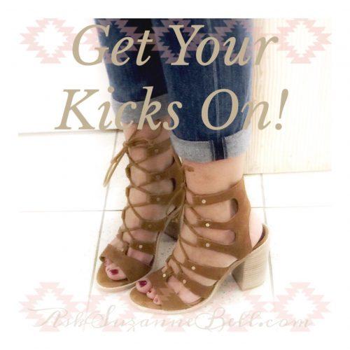 Spring Kicks on AskSuzanneBell.com | Dolce Vita