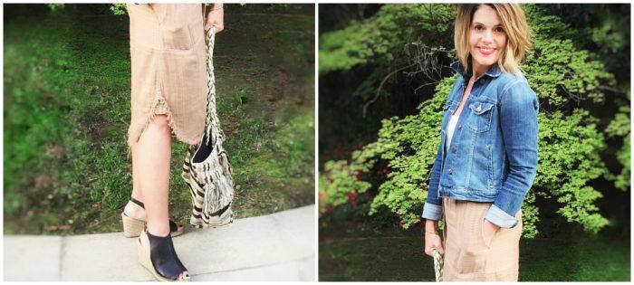 Fringe Benefits : Zara Bag and Espadrille Wedges