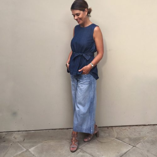 Ask Suzanne Bell Chambray toe to toe