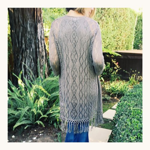 Fringe Duster Sweater Cardigan | Coldwater Creek