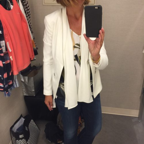 Trouve Blazer on Ask Suzanne Bell Nordstrom reviews