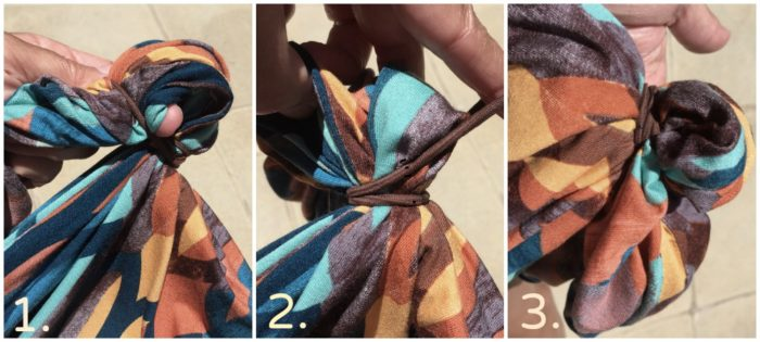 How to knot a maxi dress