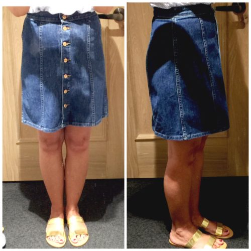 J Crew Denim Skirt Reviewed on Ask Suzanne Bell
