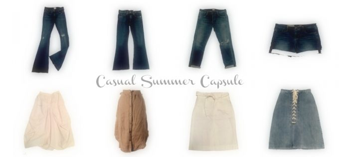 My Summer Capsule Wardrobe | Summer Staples
