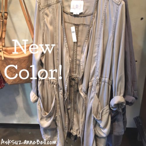Morgan Trench Anthropologie
