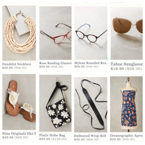 Anthropologie Weekend Sale Picks | AskSuzanneBell.com | Back to School Sales