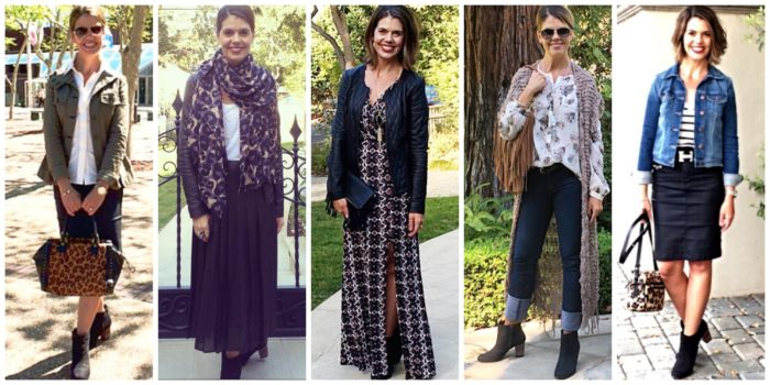 booties-5-ways | Outfit ideas with Booties for over 40 style