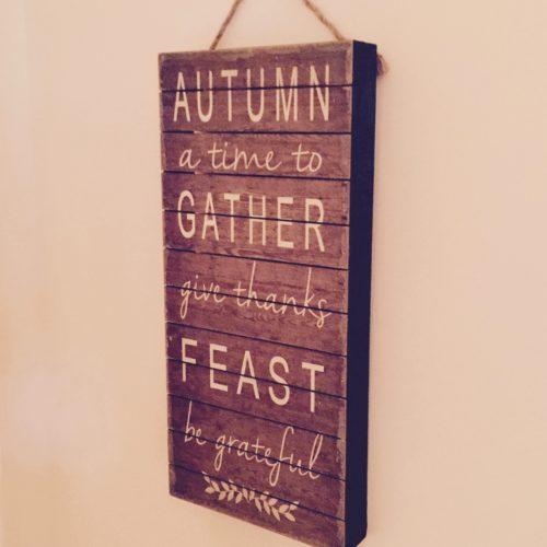 My Home: Fall Decor