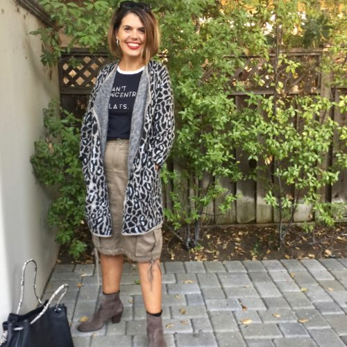 Fall Style: Joie Fall Style: Berit Animal Print Cardigan