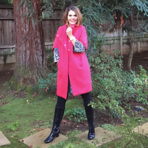 Winter Holiday Outfit Ideas: Tunic and Tall Boots