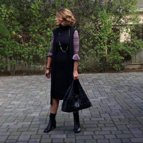 Wardrobe Staples: Autumn Cashmere Sweater Dress
