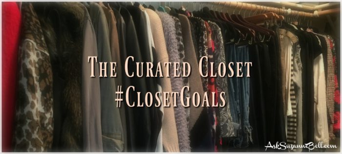 The Curated Closet #ClosetGoals 2017