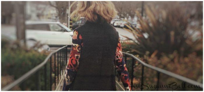 Wardrobe Remix: DVF Sweater Dress With a Boho Twist