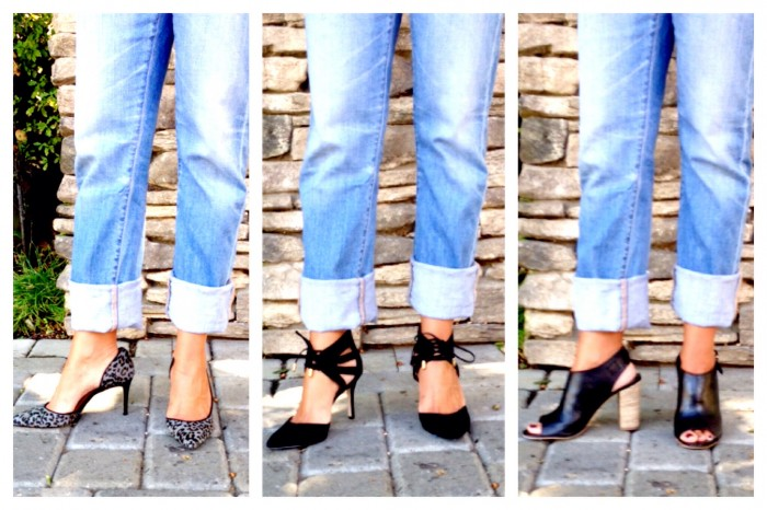 Which Shoe? Boyfriend Jean 3 ways
