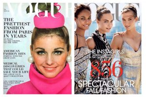Vogue Fall Covers, Then and Now