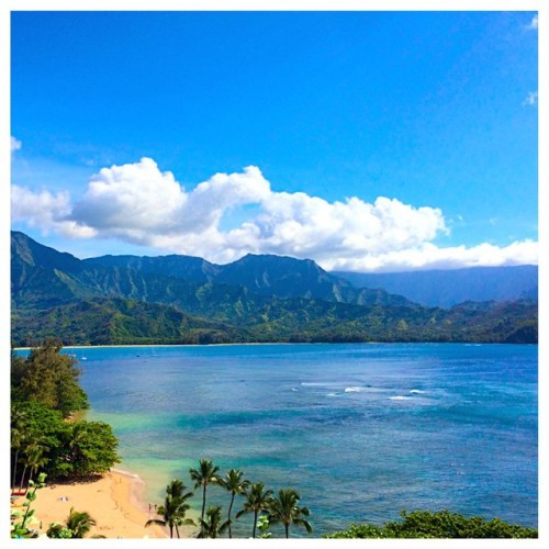 My happy place! #kauai #kauaihawaii #princeville #stregisprinceville #summertime #beach #beachday #beautifulday #beautifuldestinations #feelinghappyandblessed