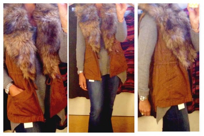 Saturday/SUnday fur vest
