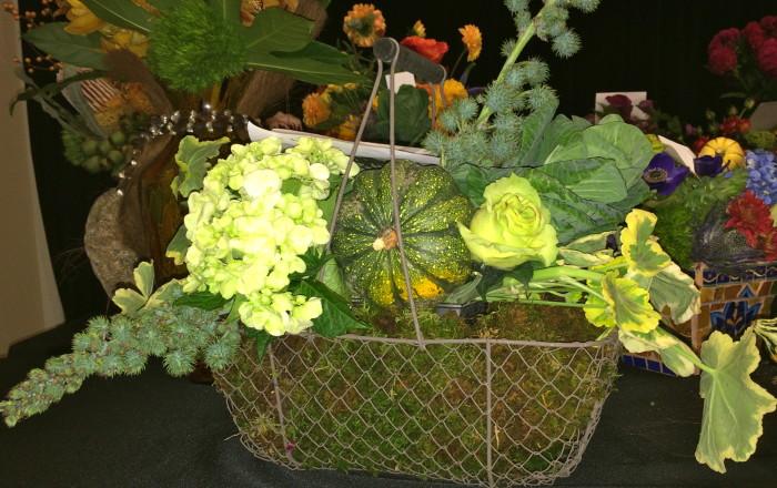 geranium and hydrangea