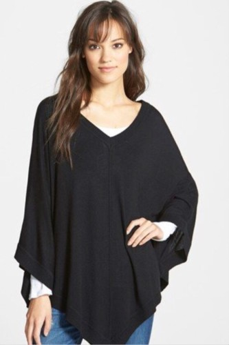 Poncho by Splendid. Clean and simple. In 3 colors HERE