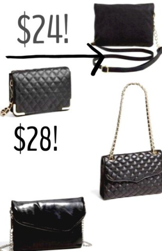 I am loving chain strap cross body bags right now!  Spot on for a night out! Click HERE  for the full set and links. The top two are and amazing deal! So cheap and cheerful! Love 'em!