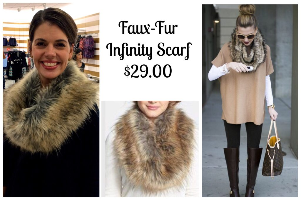 days on faux day winter infinity fashion of scarf fur