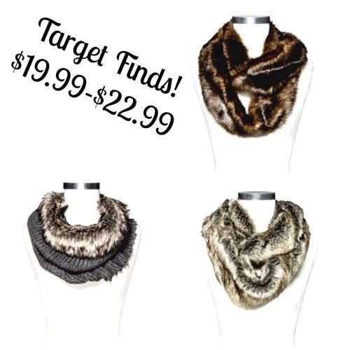 target finds scarfs