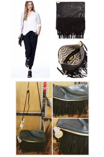 Deux Lux Fringe Handbag