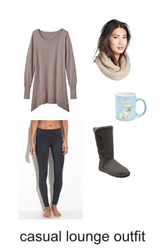Cozy Lounge OUtfit