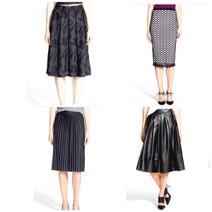 Sale skirts @ Nordstrom