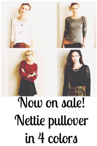 Nottie pullover