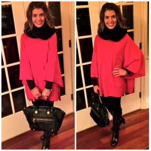 red poncho 2 ways