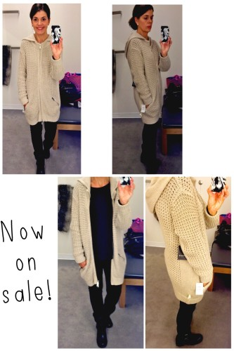 Trouve sweater coat