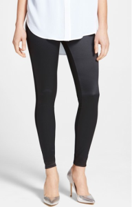 Lysse 'sophie' satin and ponte legging