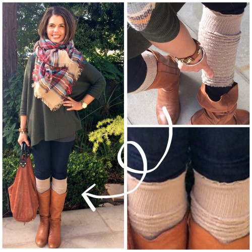 www.asksuzannebell | DIY boot toppers