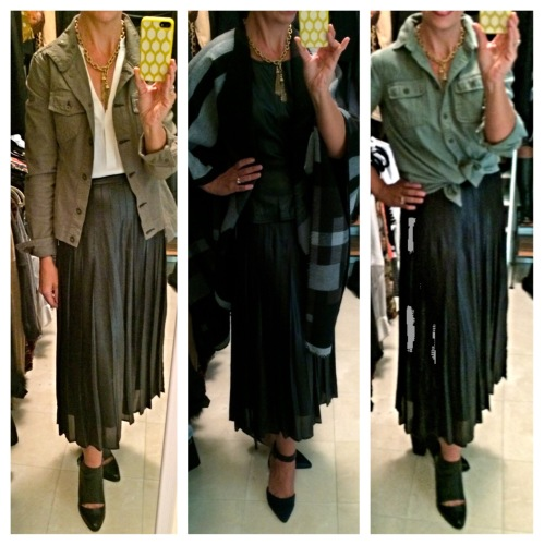 pleated skirt via www.asksuzannebell.com