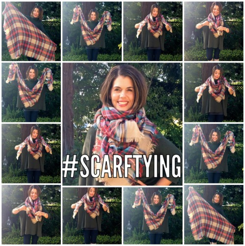 Scarf Tying Guide via www.asksuzannebell.com