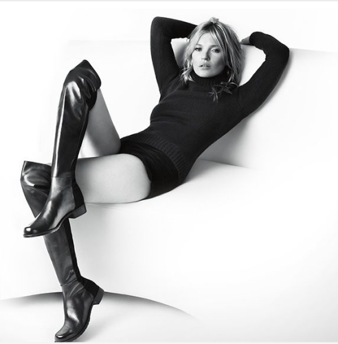 Kate Moss 50/50 boot via pinterest