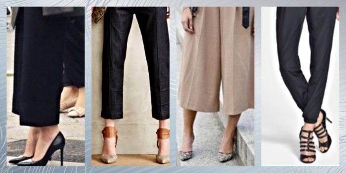 Wide Legs to Crops; The New Pants For Spring
