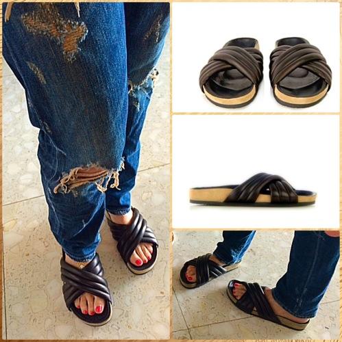 isabel Marant pool slide via www.asksuzannebell.com