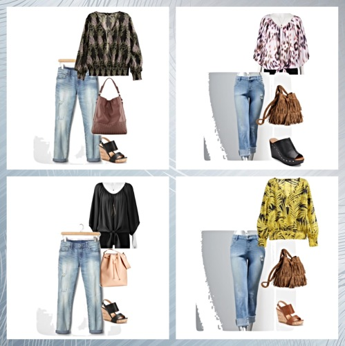 Denim Looks by www.asksuzannebell.com