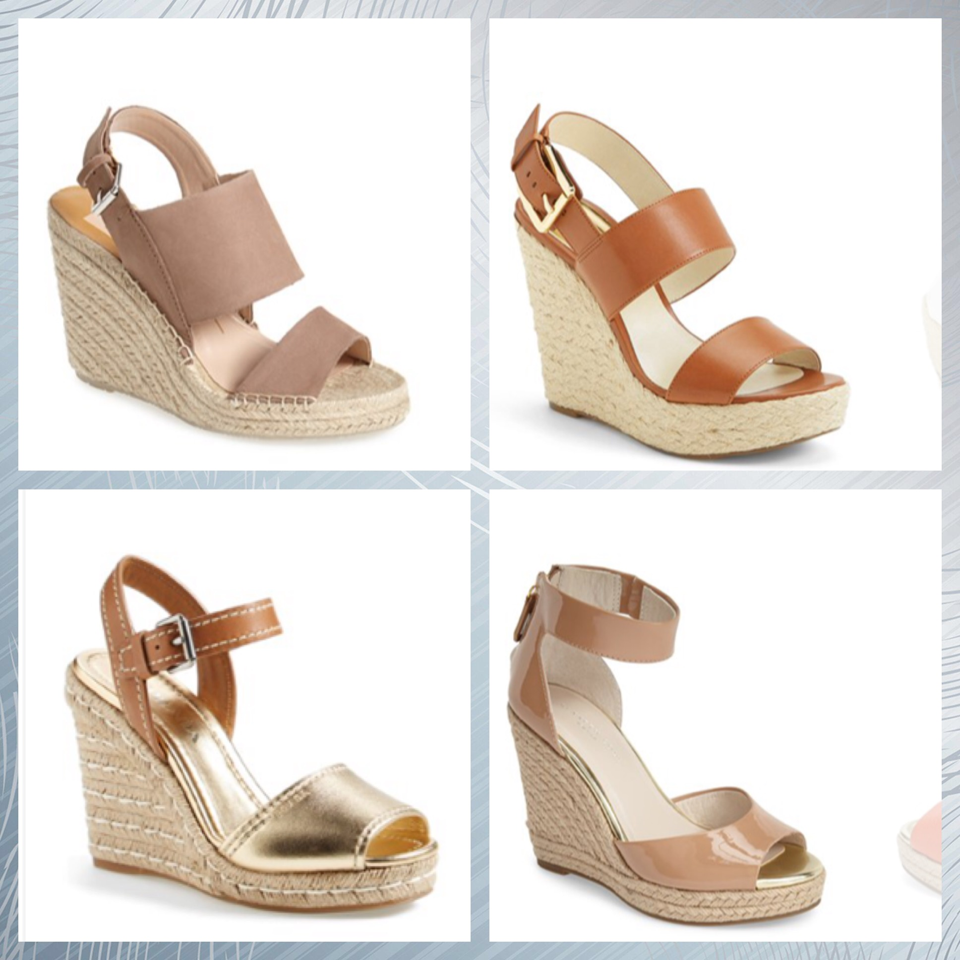 Must Have Shoe For Summer The Wedge Sandal Ask Suzanne